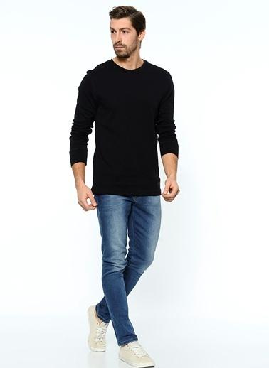 Grip Uzun Kollu Sweatshirt Siyah
